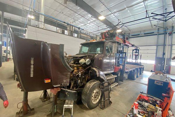 Crane repair michigan